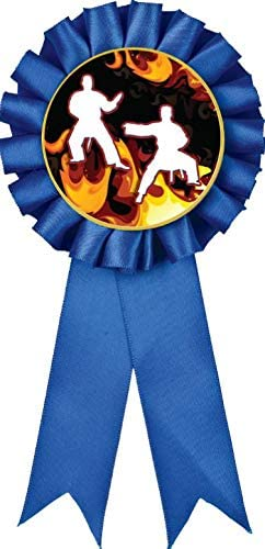 Martial Arts Blue Rosette Awa Trophy Ranking TOP13 Ribbon Mail order