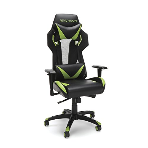 RESPAWN 205 Racing Style Gaming Chair, in Green 300 chair gaming green in Racing RESPAWN Style