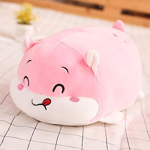 feimeifen Cartoon Hamster Pillow Plush Toy Cushion Girl Gift 75 cm Pink