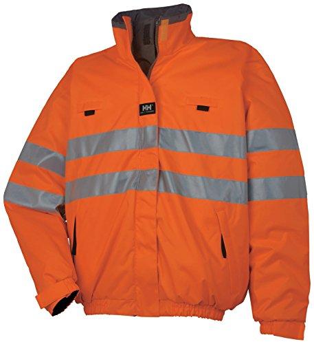 Helly Hansen omkeerbare waarschuwingsbescherming taillejas Motala omkeerbare jas 73256 veiligheidsjas Werkkleding Motala omkeerbaar jack Small oranje