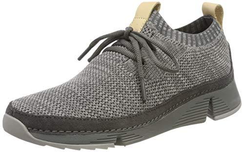 Clarks Damen Tri Native. Sneaker, Grau (Grey Combi), 38 EU