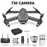 KiGoing Drone Pliable Quadcopter, Drone avec Caméra 720P HD FPV WiFi Drone avec Camera,Drone Et Caméra Vidéo en Direct GPS E98 720P 1080P Drone 4K WiFi FPV Drone Volant