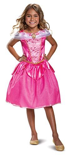 Disney Princess Aurora Classic Girls' Costume, Pink