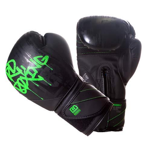 RD BOXING Gants de Boxe Rumble V5 TAG Noir//Gris