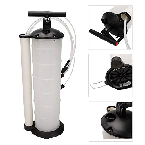 SUPERFASTRACING Oil Fluid Extractor 7L Manual Vacuum Fuel Petrol Pump Transfer Syphon Suction