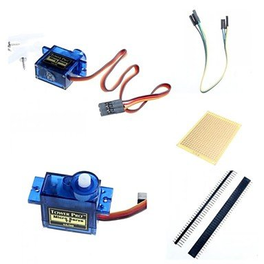 UKIAN Módulos/sensores Arduimo accessonries Mando a Distancia Servos y Accesorios para Arduino