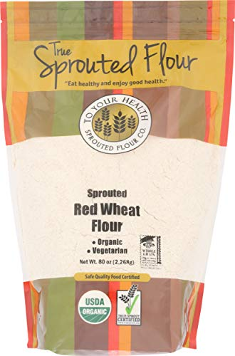 To Your Health Sprouted Flour Co, Flour Sprouted Wheat Organic, 80 Ounce