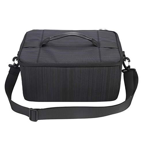 Yi-xir Bolsa de hombro para cámara réflex digital, portátil, acolchada, con asa para cámara DSLR, ligera y duradera (color: negro, tamaño: A)