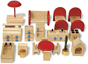 product image for tag P6A Family Dollhouse Furniture