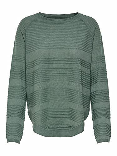 ONLY Onlcaviar L/s Pullover Knt Noos, Suéter para Mujer, Verde (Chinois Green Chinois Green), 38 (Talla del fabricante: Small)