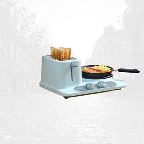 JYDQB Multi-Function Pan, Mini Kitchen Frying Pan, Household Toaster, Pizza Baking and Sandwich Pan3-in-1 Electric Breakfast Machine (Color : A)