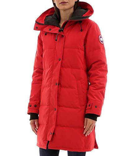 Canada Goose Women's Shelburne Parka Coat, Non-Fur (X-Small, Red)