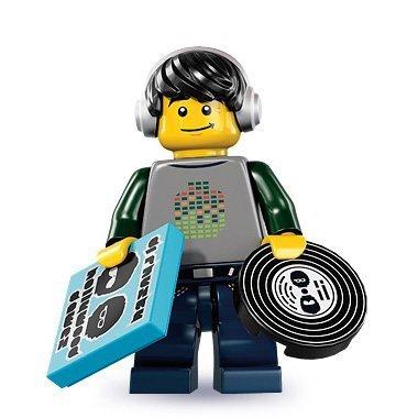 LEGO minifigurens serie 8 - DJ