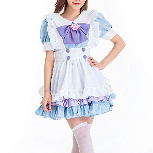volwassen meid kostuums, nieuwe halloween vrouwen mooi podium meid halloween cosplay jurk, ober bier kostuum jurk