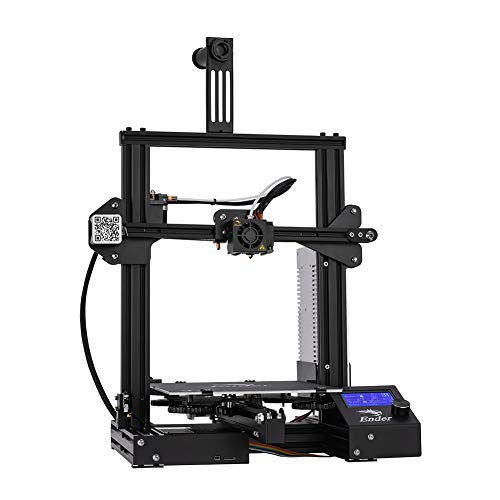 Official Creality Ender 3 3D Printer Fully Open Source with Resume Printing All Metal Frame FDM DIY Printers with Resume Printing Function 220x220x250mm