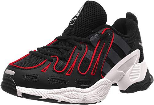 adidas EQT Gazelle, Zapatillas de Gimnasia Hombre, Negro (Core Black/Grey Six/Energy Pink F17 Core Black/Grey Six/Energy Pink F17), 42 EU