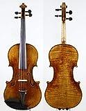 LOIKHGV Violines- Un Gran violín Stradivarius violín 4/4, como se Muestra