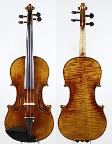 LOIKHGV Geige- A Great Stradivarius Violin 4/4 Violino, Wie abgebildet