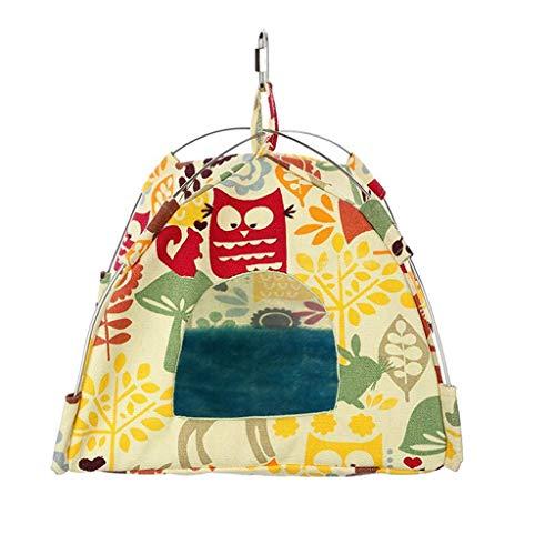 luosh winter warm vogel nest huis hut papegaai habitat grot opknoping tent parkiet slapen hut hangmat