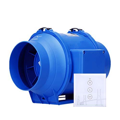 Extractor de aire QIQIDEDIAN Ventilador de ventilación de 5 Pulgadas baño silencioso