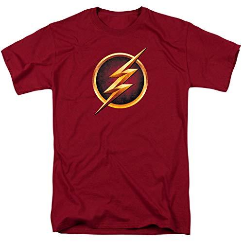 The Flash TV Series Logo T Shirt (Medium) Cardinal