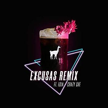Excusas (Remix)