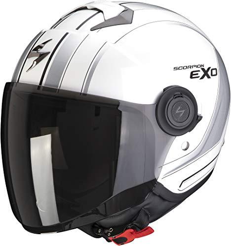 Scorpion EXO-CITY SCOOT White-Silver L