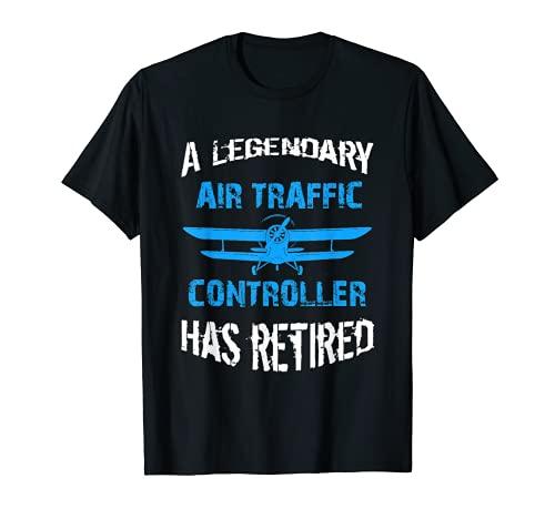 El legendario controlador de trfico areo se jubil Camiseta