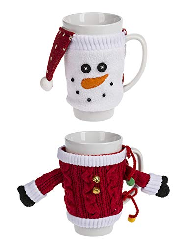Ganz Warm and Cozy Mugs Set of 2 Assorted