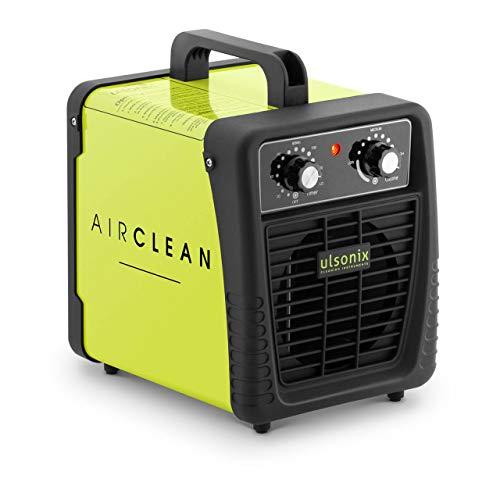 Ulsonix Generatore die Ozono professionale AIRCLEAN 10G-ECO Purificatore d'aria Ozonizzatore (500-10.000 mg/h, 95 W, 170 m³/h, 120 min)