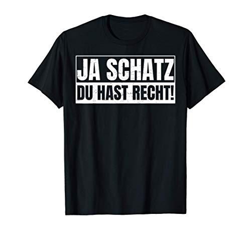 Schatz Partner Geschenk für Partnerschaft Liebhaber T-Shirt