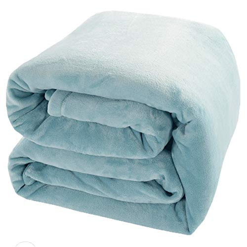 Luxury Fleece Blanket by Shilucheng Super Soft and Warm Fuzzy Plush Lightweight King Couch Bed...