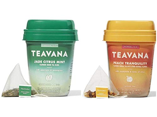 Teavana Cold Buster Medicine Ball Tea Peach Tranquility and Jade Citrus Mint