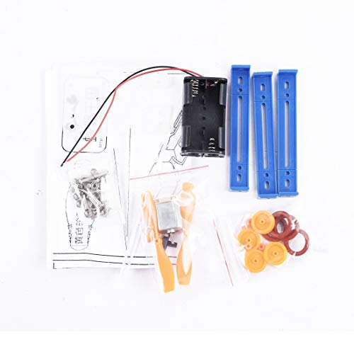 TOOGOO Solar Spielzeug Für Kinder Wind Angetrieben Spielzeug DIY Auto Kit Kinder P?dagogisches Gadget