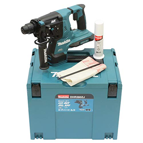 Makita DHR280ZJ (36V) Twin 18V Li-Ion LXT Brushless Rotary Hammer SDS-Plus Supplied in A Makpac Case - Batteries and Charger Not Included