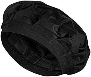 K-lora Cordless Deep Conditioning Heat Cap - Hair Styling and Treatment Steam Cap Heat Therapy and Thermal Spa Hair Steamer Gel Cap - Black