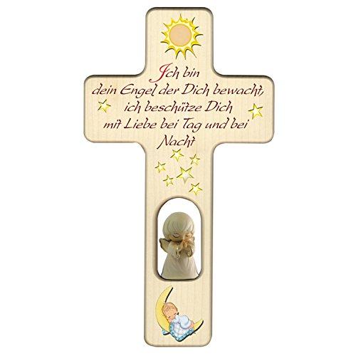 Holzkreuz zu Geburt, Taufe oder Kindergeburtstag/Dekoration/mit Aufhängung