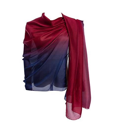 Cyzlann Women's Scarves 100% Sil...