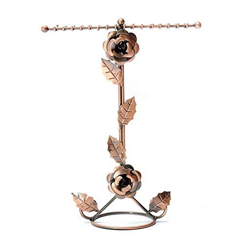 TOOGOO Soporte de Collar de Doble Rosa Soporte de Joya Pulsera Brazalete Pendiente Soporte de ExhibicióN de Joya Accesorios de Joya
