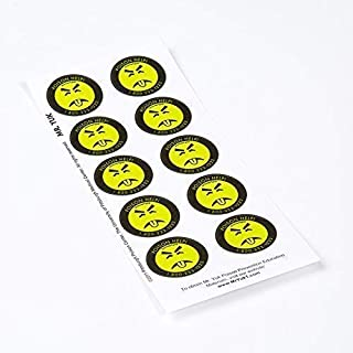 Mr. Yuk Bulk Stickers Poison Prevention Genuine (10 per Sheet) (500)