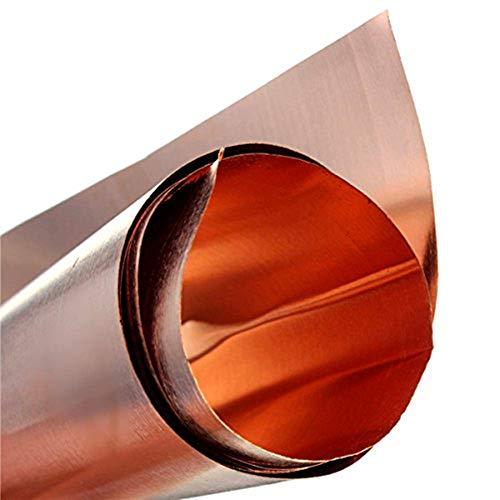 LANCOLD - Lámina de Cobre Puro de Seguridad para artesanías aeroespaciales