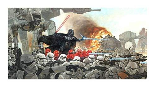 JAZC Puzzle 1000 Piezas Juguetes Rompecabezas For Los Adultos De La Tropa Skywalker Guerra Clon Wars Star Wars Ilustraciones Rompecabezas Educativo Inteligencoa 300-1500 Piezas (Size : 500P)