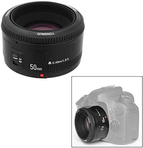 YONGNUO Lens YN50mm f1.8 YN EF 50mm f/1.8 AF Lens YN50 Aperture Auto Focus Lens for Canon EOS 60D 70D 5D2 5D3 600d DSLR Cameras (YN50MM1.8II Canon)