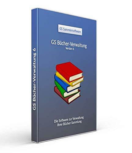 GS Bücher-Verwaltung 6 - Software zur Verwaltung Ihrer Büchersammlung - Datenbank Programm zur Bücherverwaltung