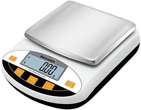 Bonvoisin Lab Scale 5000gx0 01g Digital Precision Analytical Balance 10mg High Precision Electronic product image