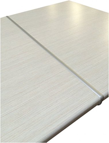 Küchen-Preisbombe Aluminium 38 mm Arbeitsplatten Verbindungsschiene Schiene für gerade Verbindung