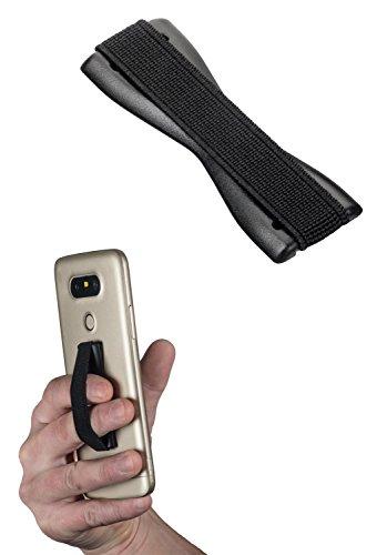 yayago Uni Fingerhalterung, Sling Grip Finger Halter Handgriff für Handy Smartphone & eBook-Reader Schwarz