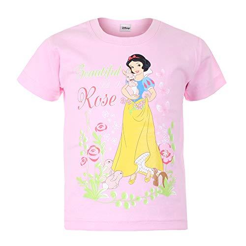 Character Club kids T-shirt a maniches cortes  Snow White Rose Rosa 3-4 anni (98/104 cm)