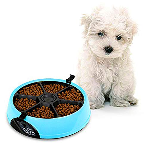 ZNN Automatic Feeder for Pets - Automatic Timer for Food...