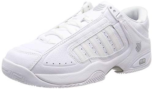 Dunlop Herren Defier RS Sneaker, White/Highrise, 42.5 EU